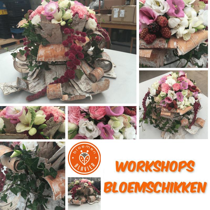 workshop-bloemschikken-bloemen-Blavier-Gingelom-augustus2016
