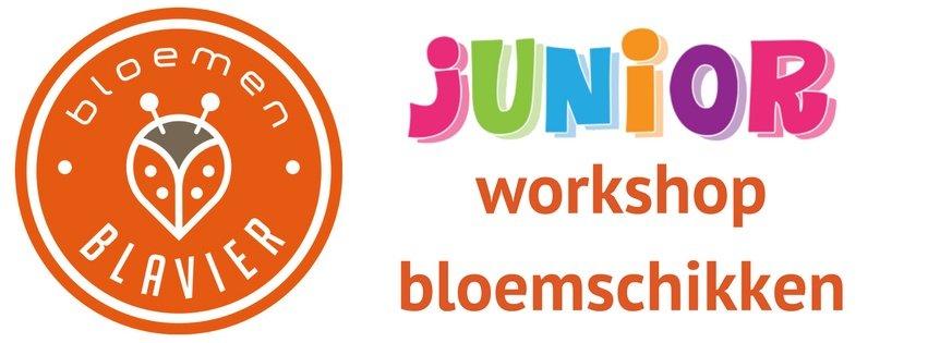 banner-junior-workshop-bloemschikken-bloemen-blavier-2016